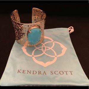 KENDRA SCOTT Large Cuff Bracelet